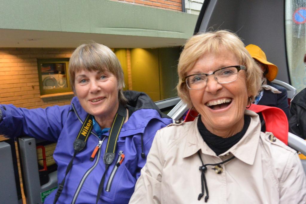 Leder Hilde Aga og redaktør Anne L. Buvik